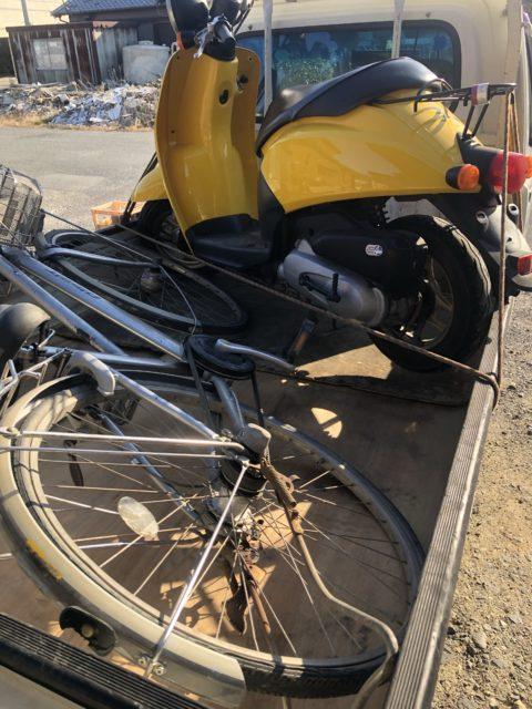 亀山市でバイク買い取り、スクーター処分、不用品回収や処分なら株式会社kousui