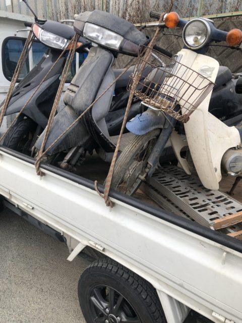 津市で不動バイクや不要なスクーターを回収や買取りなら株式会社kousui